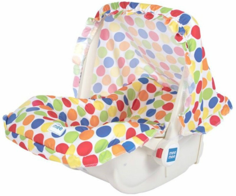 Meemee 5 in 1 Baby Cozy Carry Cot Cum Rocker(Multicolor)