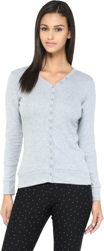 Ajile by Pantaloons Womens Button Cardigan