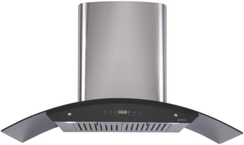 Elica OSB HAC TOUCH Wall Mounted Chimney(Silver 1100)