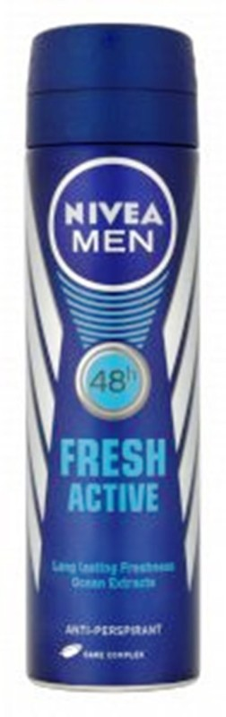 Nivea Imported Men Fresh Active Anti-Perspirant Spray Deodorant Spray - For Men(149 ml)
