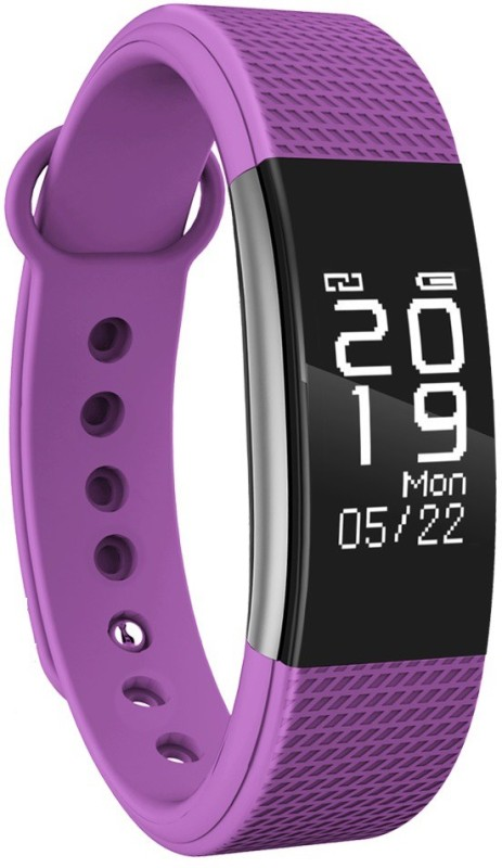 Bingo F1 Bluetooth Heart Rate Smartband(Purple Strap, Size : M)