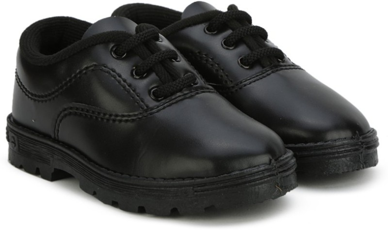 Prefect Boys & Girls Slip on Walking Shoes(Black)