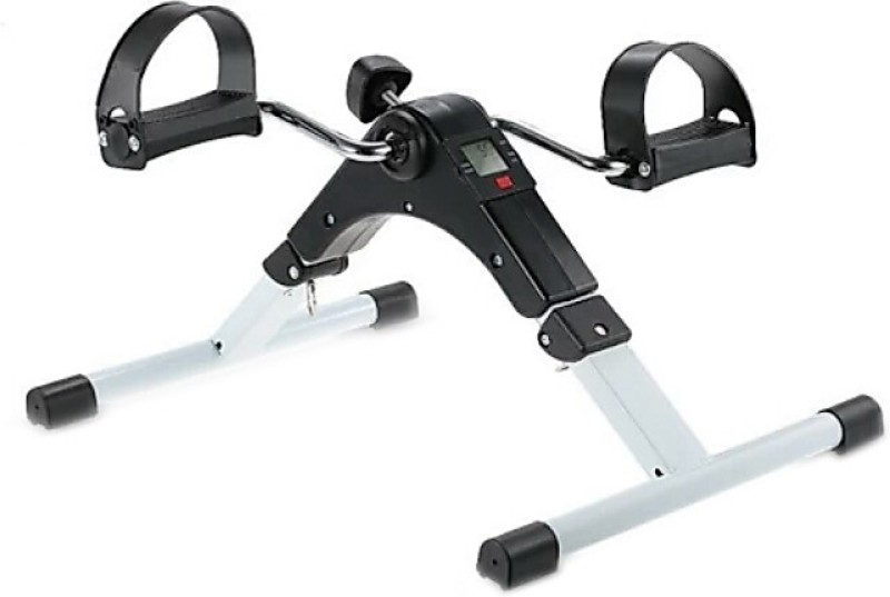 MSE Mini Plastic Metal Indoor/Outdoor Total Body Exerciser Cum Cardio Cycle With Digital Display Mini Pedal Exerciser Cycle