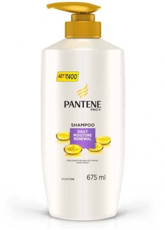 Pantene DAILY MOISTURE RENEWAL SHAMPOO 675 ML(675 ml)
