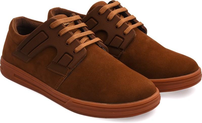 Bacca Bucci Tan Sneaker Casuals For Men(Tan)