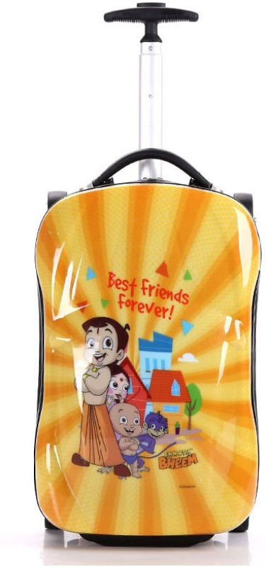 Fortune Chhota Bheem Best Friend Forever Cabin Luggage - 18 inch(Multicolor)
