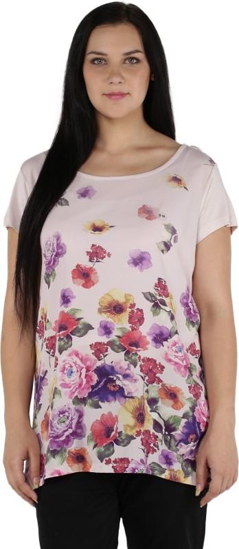 Alto Moda by Pantaloons Floral Print Women's Tunic