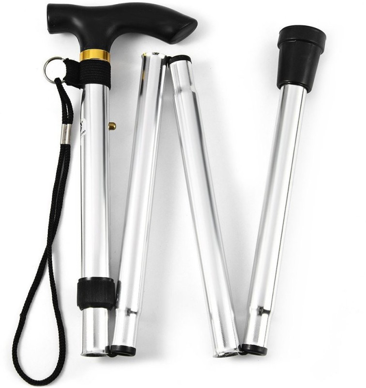 MCP FOLDING WALK SLVR01 Walking Stick