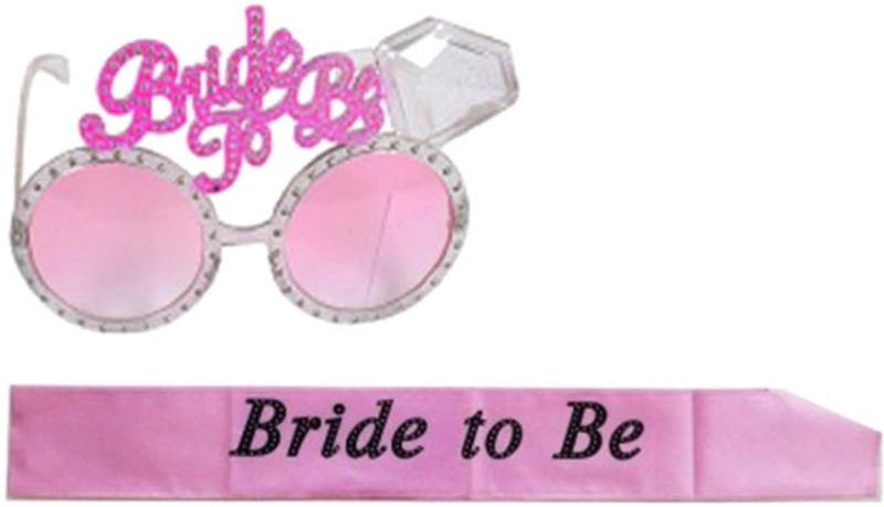 Shop Online Bride to be Sash + Goggles(Set of 2)
