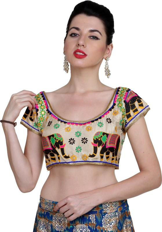18 Again Round Neck Womens Stitched Blouse