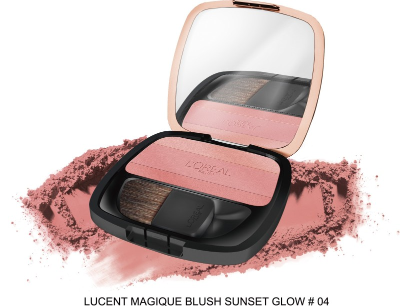 LOreal Paris Lucent Magique Blush 04 Sunset Glow(Pink)