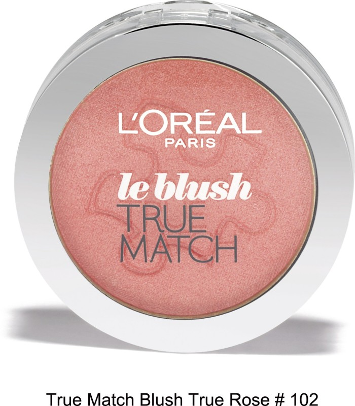 LOreal Paris True Match Blush 02 Rose Cheeks(Pink)