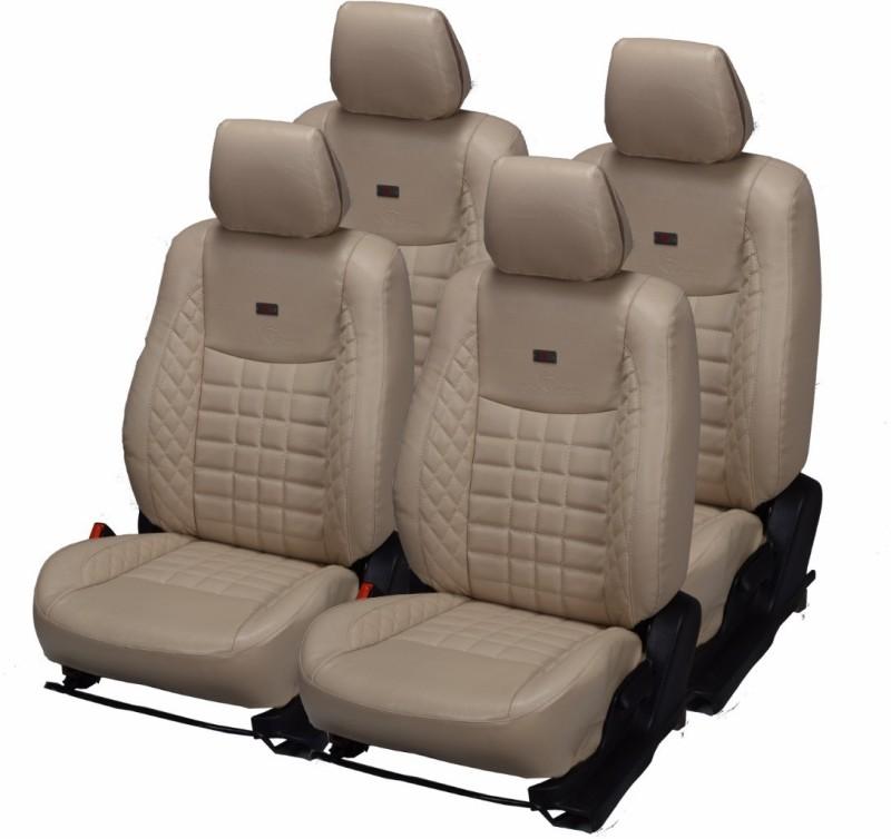 Pegasus Premium PU Leather Car Seat Cover For Hyundai Eon(Detachable Head Rest, Mono Back Seat, With Back Seat Arm Rest, 5 Seater, 2 Back Seat Head Rests)