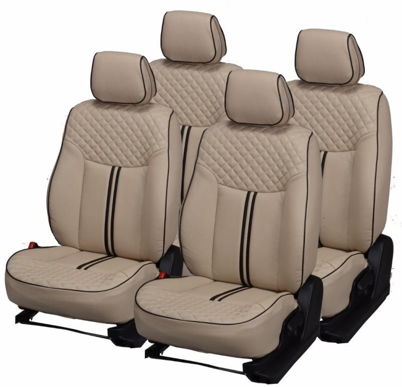 Pegasus Premium PU Leather Car Seat Cover For Chevrolet Beat(Detachable Head Rest, Mono Back Seat, With Back Seat Arm Rest, 5 Seater, 2 Back Seat Head Rests)