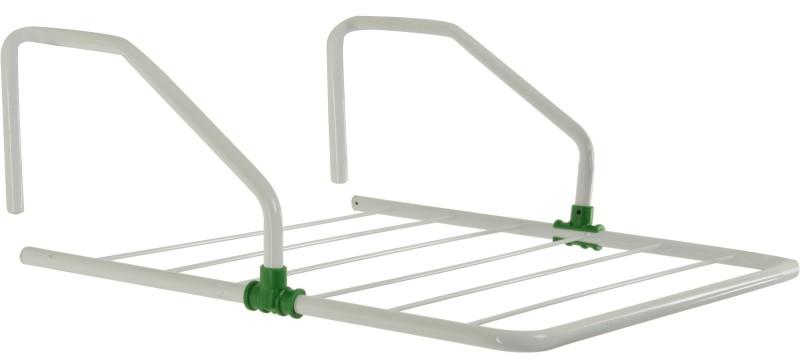 Pull 'n' Dry Aluminium Wall Cloth Dryer Stand(White)