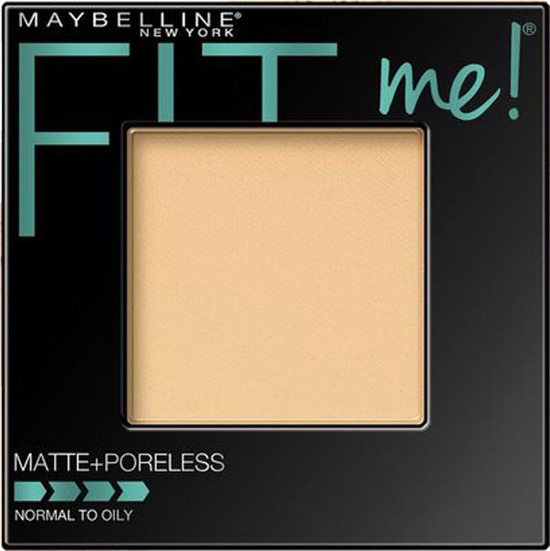 Maybelline Fit Me Matte Plus Poreless Powder Compact - 8.5 g(Porcelain - 110)