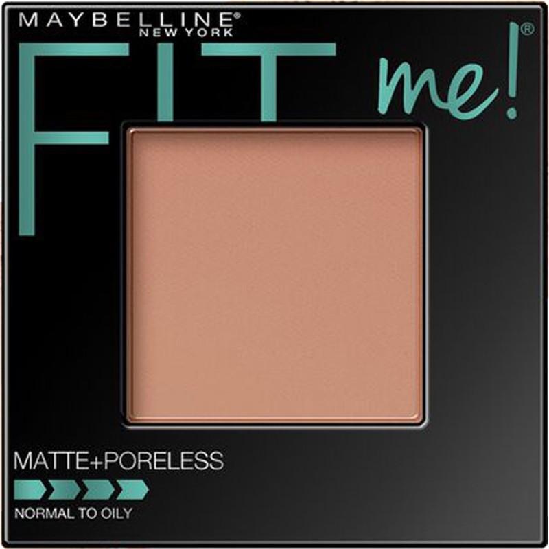 Maybelline Fit Me Matte Plus Poreless Powder Compact - 9 g(Pure Beige - 235)