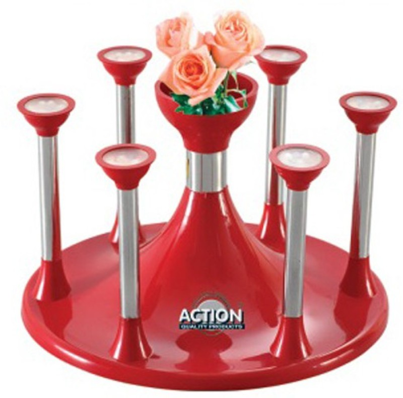 Action Ware Elegant Glass Plastic Glass Holder