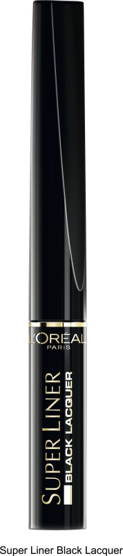LOreal Paris Superliner Black Lacquer 6 ml(Black)