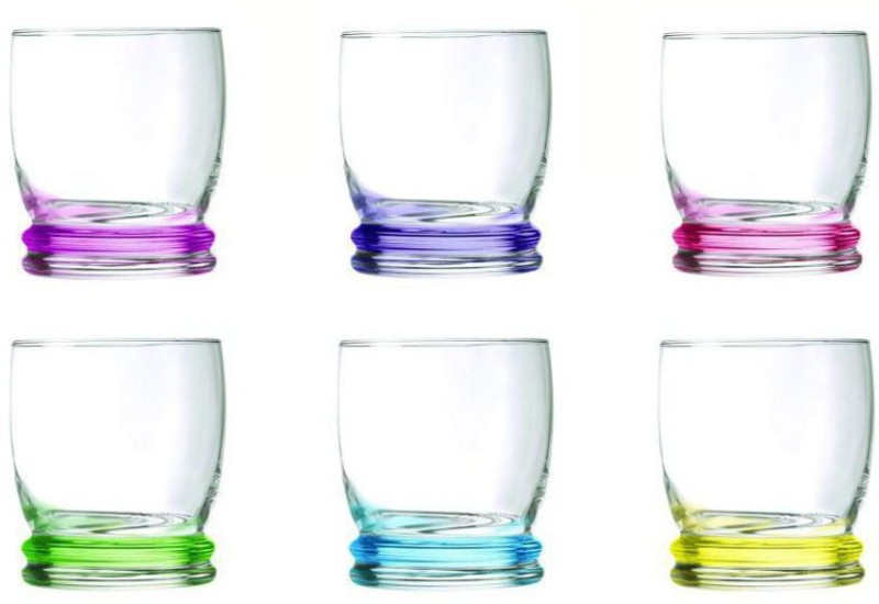 LUMINARC Glass Set(300 ml, Clear, Pack of 6)