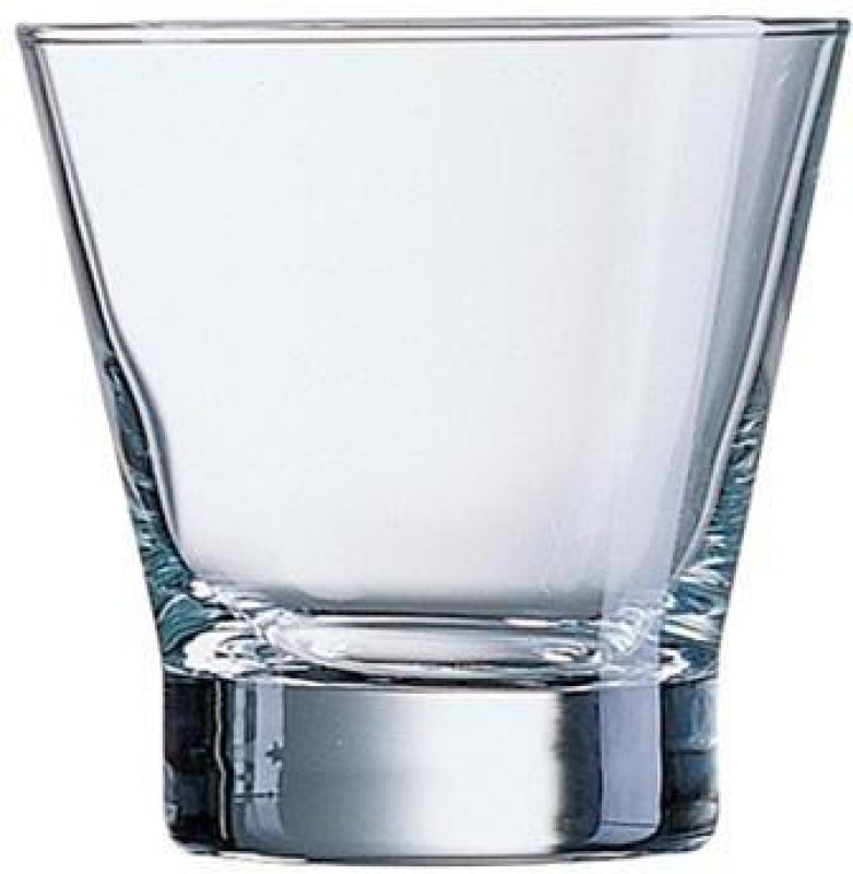 LUMINARC Glass(350 ml, Clear, Pack of 6)