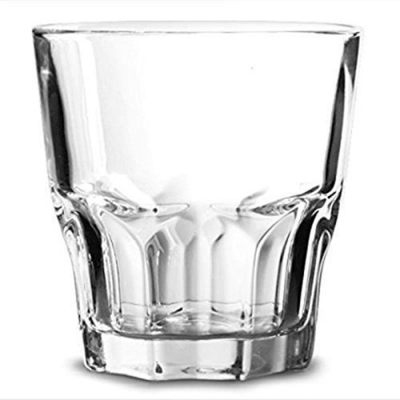 LUMINARC Glass(240 ml, Clear, Pack of 6)