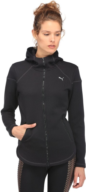 Puma Full Sleeve Self Design Women Jacket