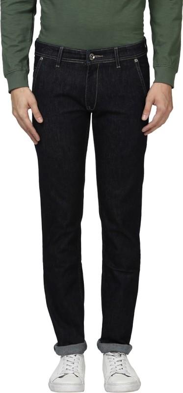 Park Avenue Slim Men Black Jeans