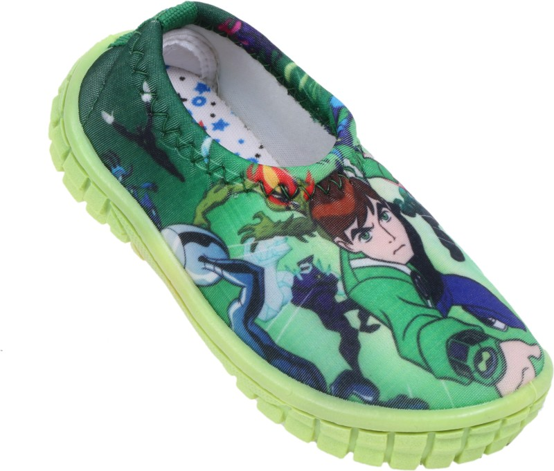 GNX Boys & Girls Slip on Loafers(Green)
