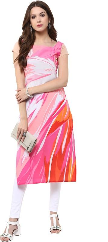 Janasya Casual Printed Women Kurti(Multicolor)