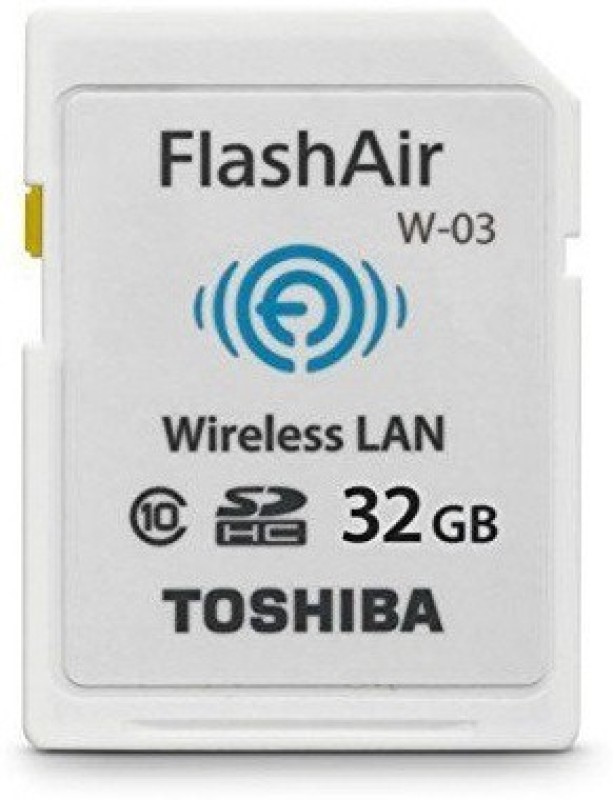 Toshiba wifi 32 GB SD Card Class 10 40 MB/s Memory Card