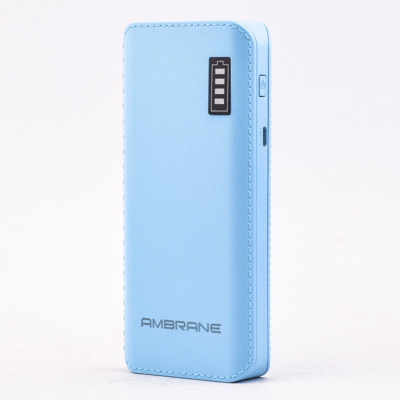 Ambrane P-1133 12500 mAh Power Bank(Blue, Lithium-ion)