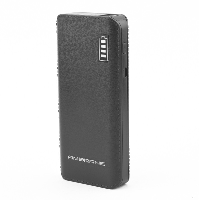 Ambrane P-1133 12500 mAh Power Bank(Black, Lithium-ion)