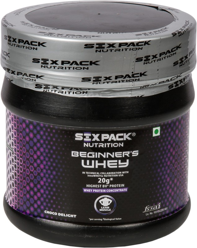 Six Pack Nutrition Beginners Whey Whey Protein(320 g, Choco Delight)