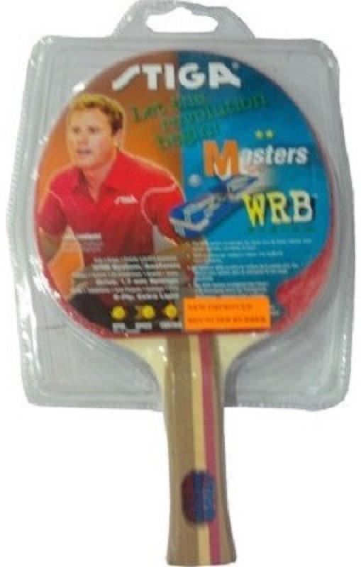 Stiga MASTERS Multicolor Table Tennis Racquet(80 g)