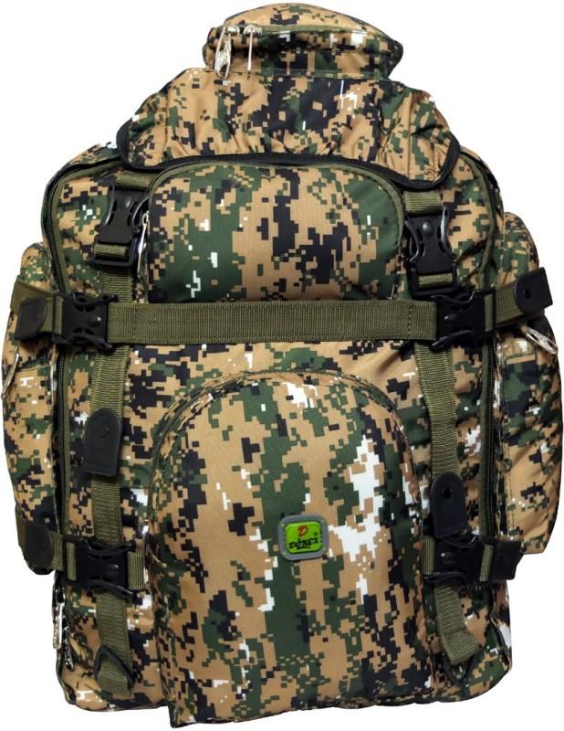 Donex 5701 Rucksack - 60 L(Multicolor)