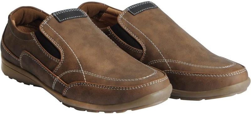 Bata Mens Brown Loafers For Men(Brown)