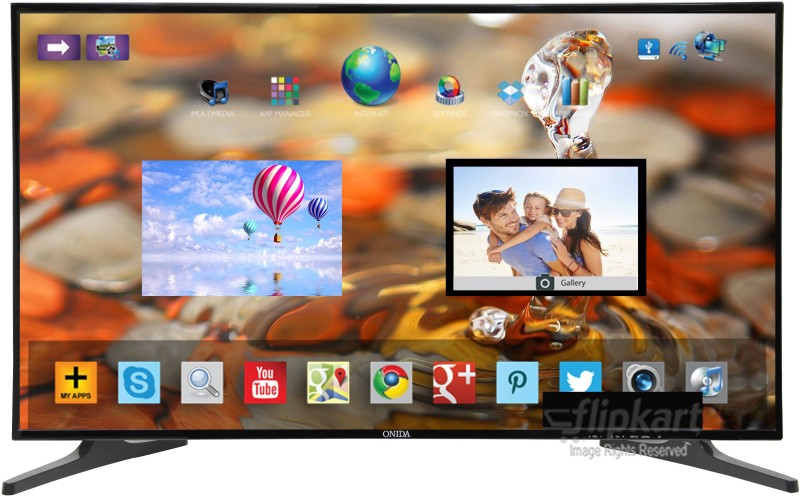 Onida 109.22cm (43) Full HD LED Smart TV(43 FIS)