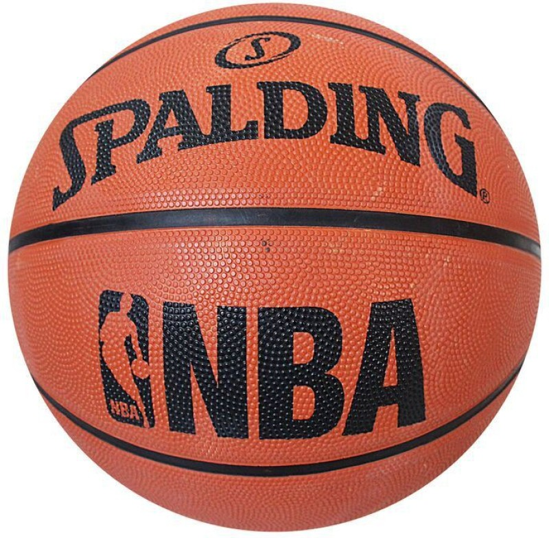 SPALDING Basket Ball NBA S-7 Basketball - Size: 7(Pack of 1, Brick)