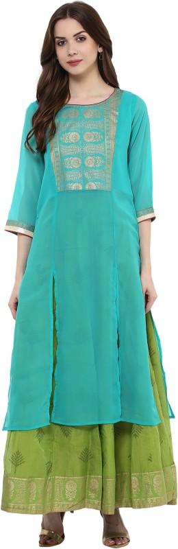Trishaa by Pantaloons Women's Top and Skirt Set