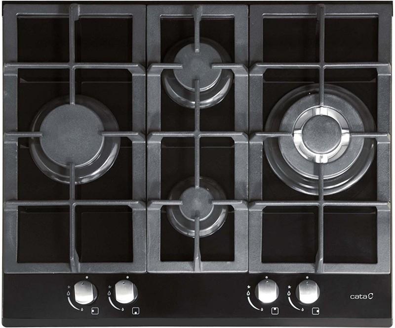 CATA LCI 631 BK Glass Automatic Gas Stove(4 Burners)