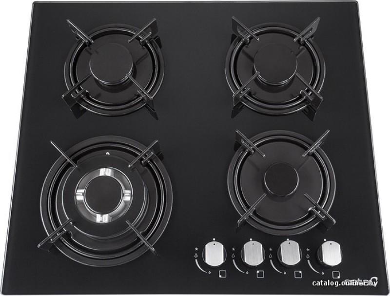 CATA CB 631 A Glass Automatic Gas Stove(4 Burners)