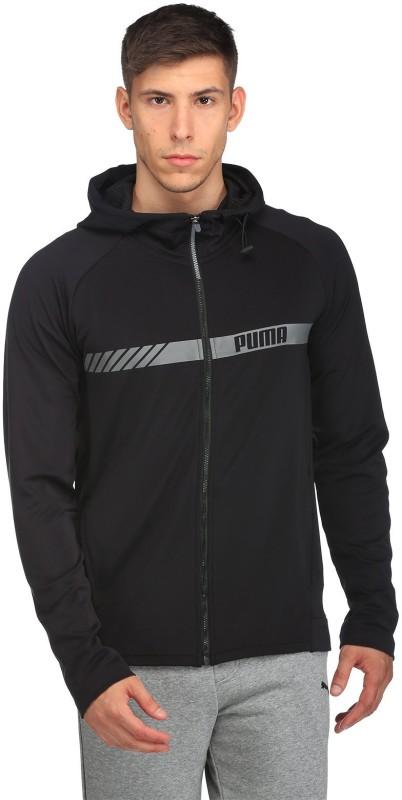 Puma Full Sleeve Solid Men Sports Jacket Jacket