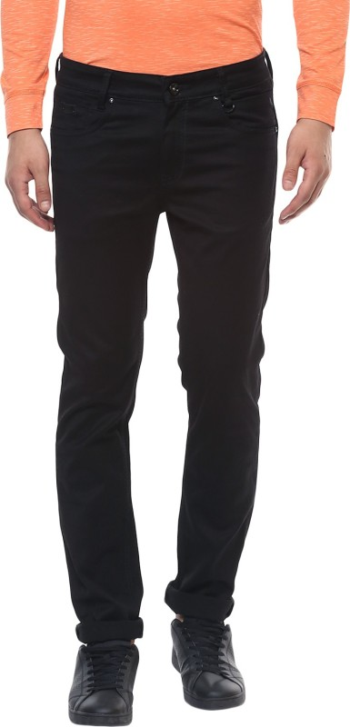 Mufti Regular Men Black Jeans