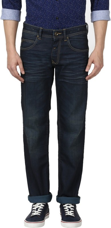 Park Avenue Slim Men Blue Jeans
