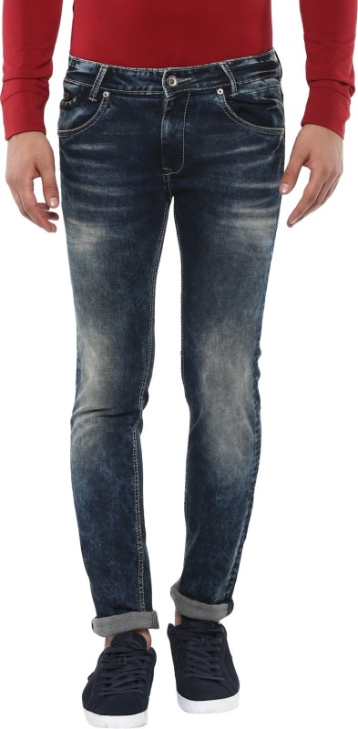 Mufti Slim Men Brown Jeans