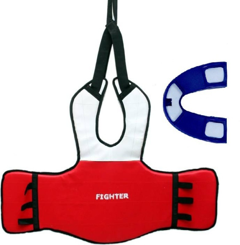 Fighter CHEST GUARD WITH GUM SHIELD Boxing Kit