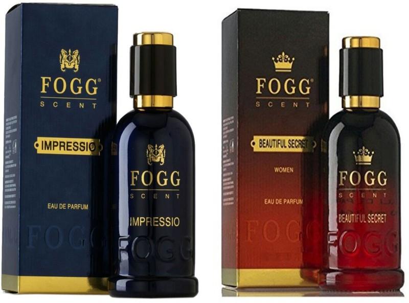Fogg IMPRESSIO PERFUME +BEAUTIFUL SECRET Eau de Parfum - 180 ml(For Men & Women)