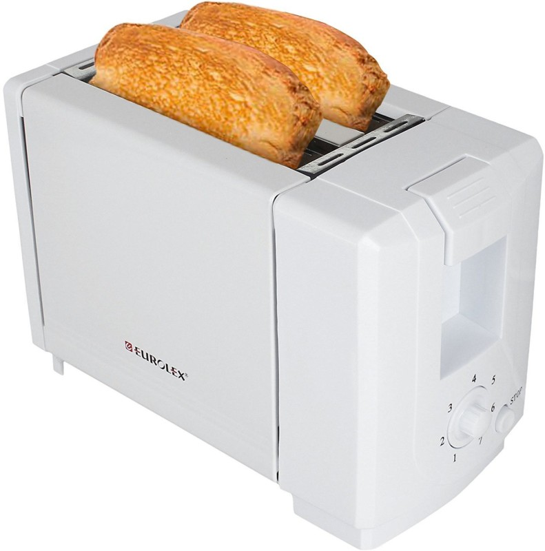 Eurolex PT16025 750 W Pop Up Toaster(White)