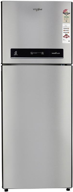 Whirlpool 340 L Frost Free Double Door 3 Star Refrigerator(Alpha Steel, IF 355 ELT 3S)
